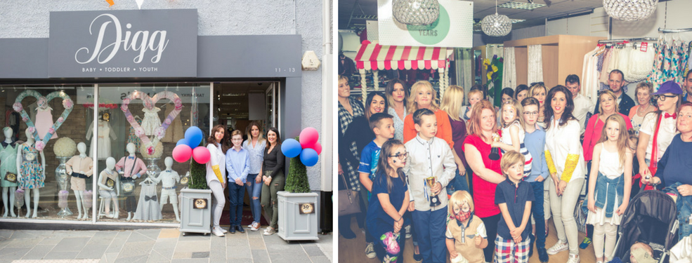 Behind the business catch up with Caroline O'Neill from DIGG Childrenswear.