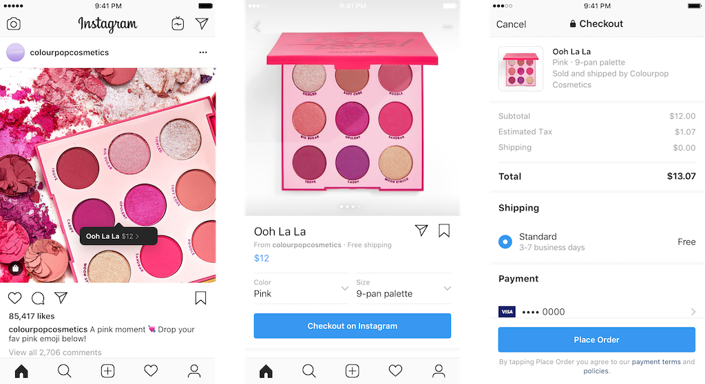 Instagram Shopping New Feature Digital 24 Social Media Northern Ireland Agency