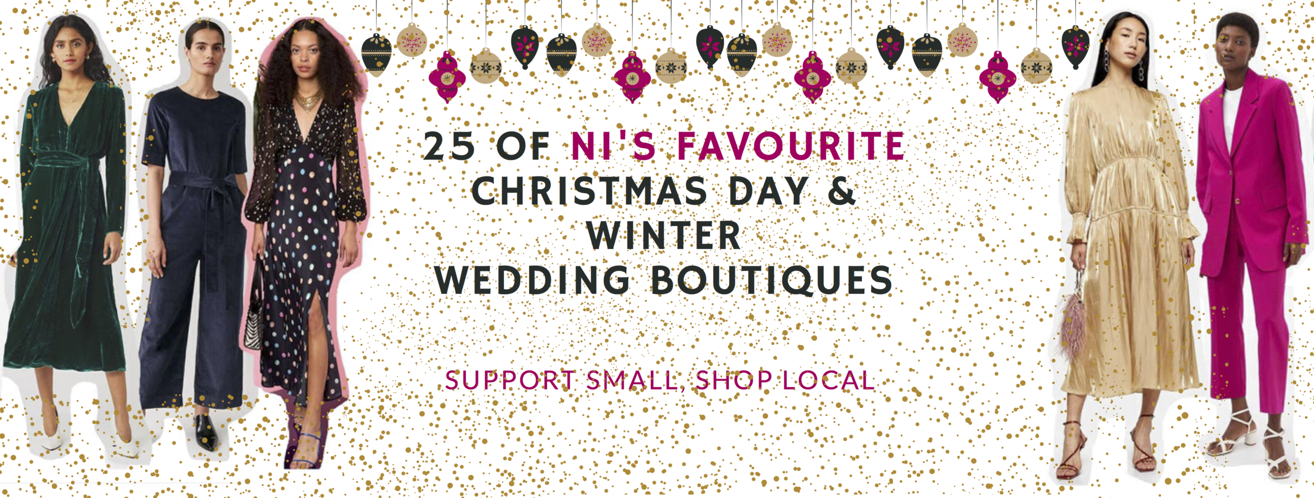 25 Places To Visit To Get Christmas Day & Winter Wedding Ready