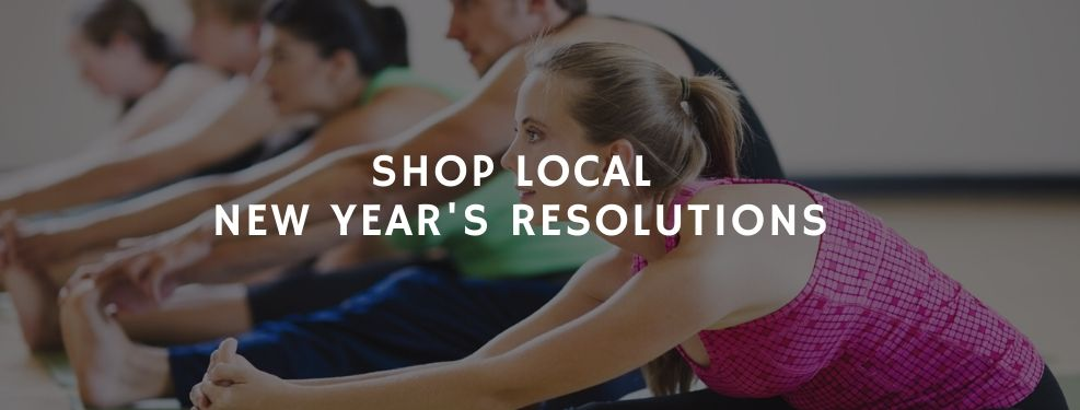 Shop local New Year's Resolutions